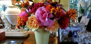 Kelly Emberg Floral arrangements