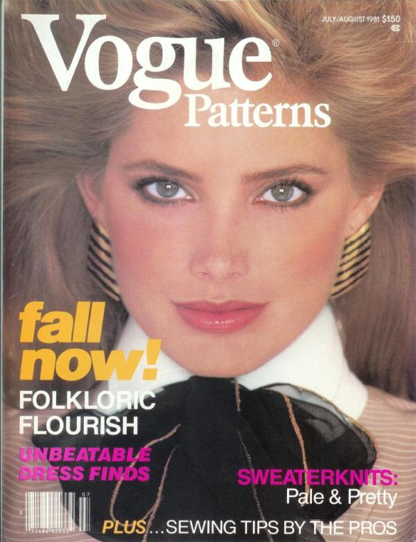 Kelly EMberg Vogue Patterns