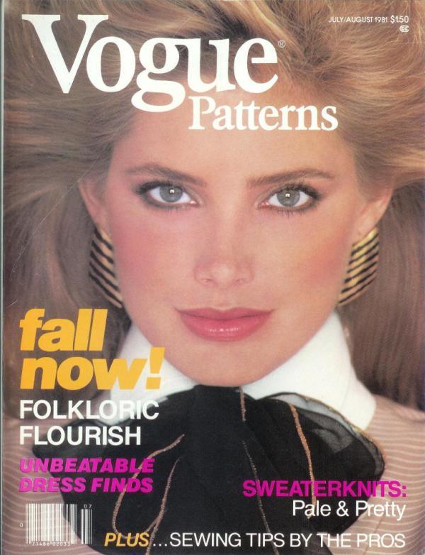 Kelly EMberg Vogue Patterns