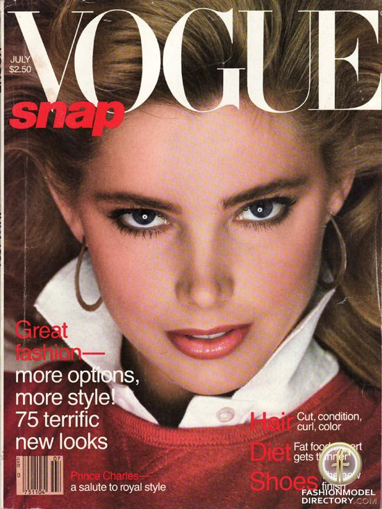 Kelly Emberg Vogue cover