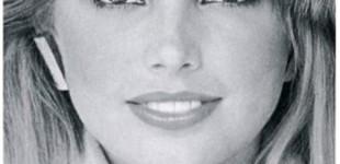 Kelly Emberg Vogue fur hat