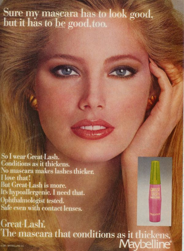 Kelly Emberg Maybelline