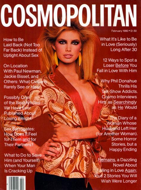Kelly Emberg Cosmopolitan Magazine Cover by Francesco Scavullo