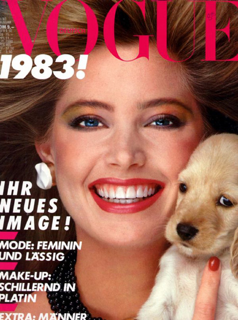 Kelly Emberg Vogue Magazine Cover