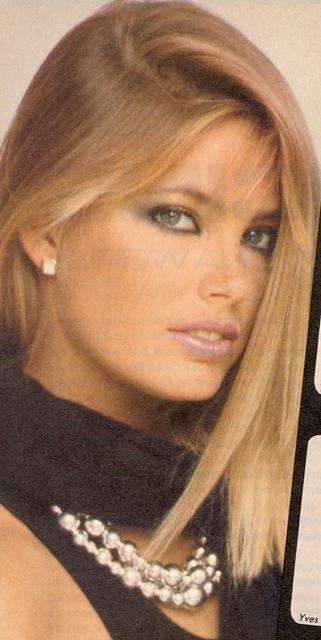 Kelly Emberg Vogue close up