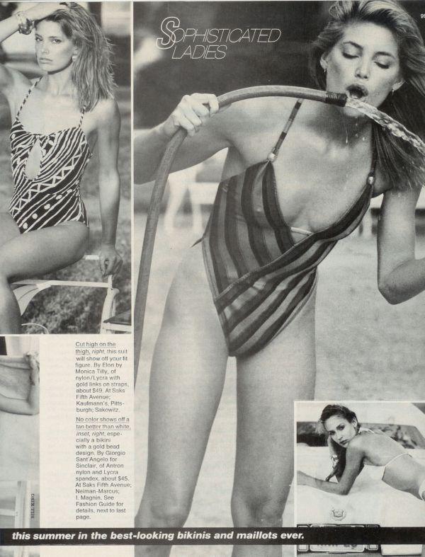 Kelly Emberg Elite modeling card