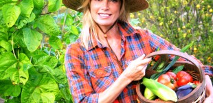 Kelly Emberg the model gardener