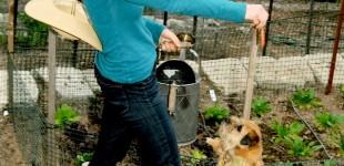 Kelly Emberg the model gardener
