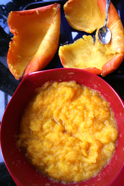 pumpkin mashed