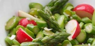 asparagus radish salad